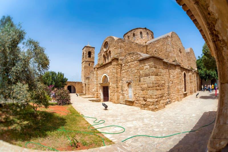 San Barnabas Monastery Distretto di Famagosta, Cipro fotografie stock libere da diritti