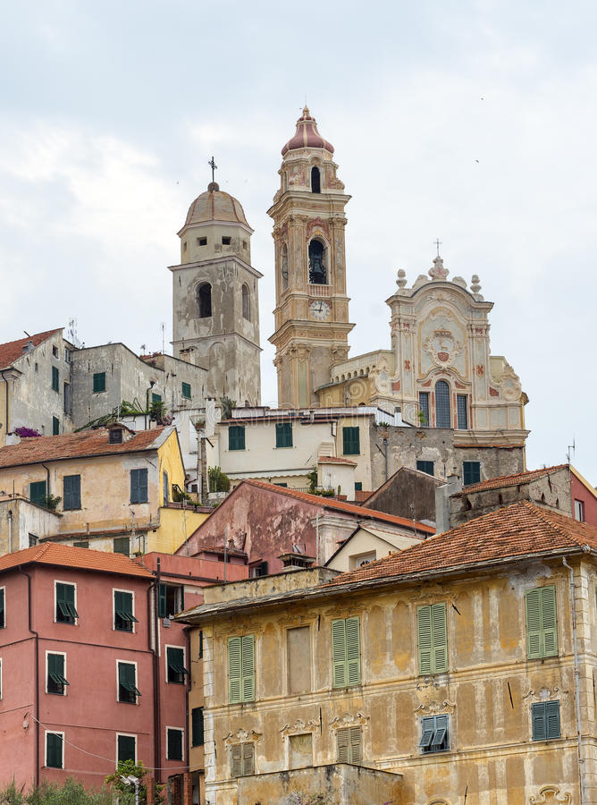 San Bartolomeo al Mare (Ligurië) royalty-vrije stock afbeelding