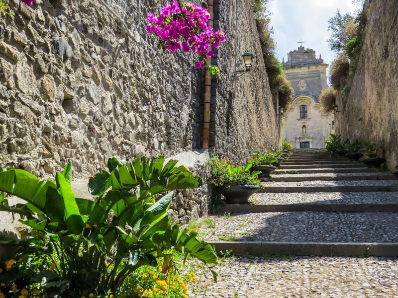 San Bartolomeo, cathédrale de Lipari photographie stock libre de droits