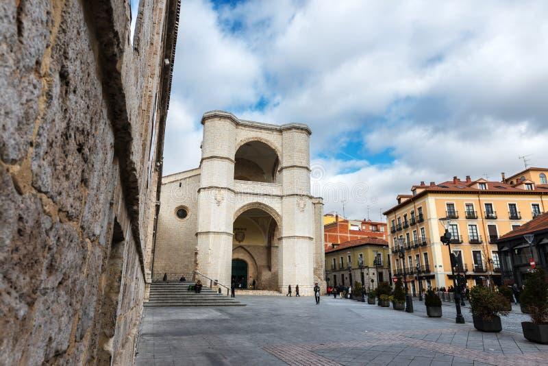 San Benito Church em Valladolid imagem de stock