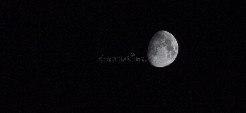 SAN BERNARDINO, CA - Moon stock photos