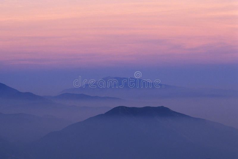 SAN Bernardino Mountains στοκ φωτογραφία με δικαίωμα ελεύθερης χρήσης