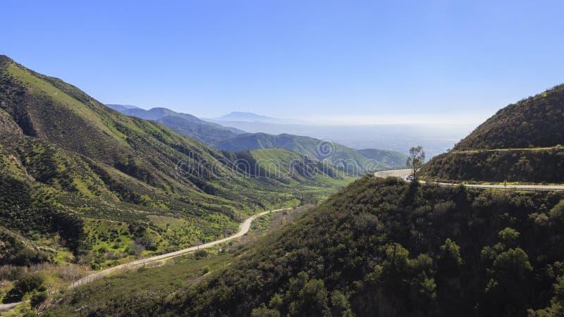 San Bernardino no tempo do por do sol imagem de stock royalty free