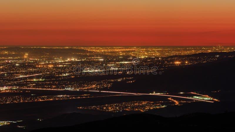 San Bernardino von der Spitze lizenzfreies stockbild