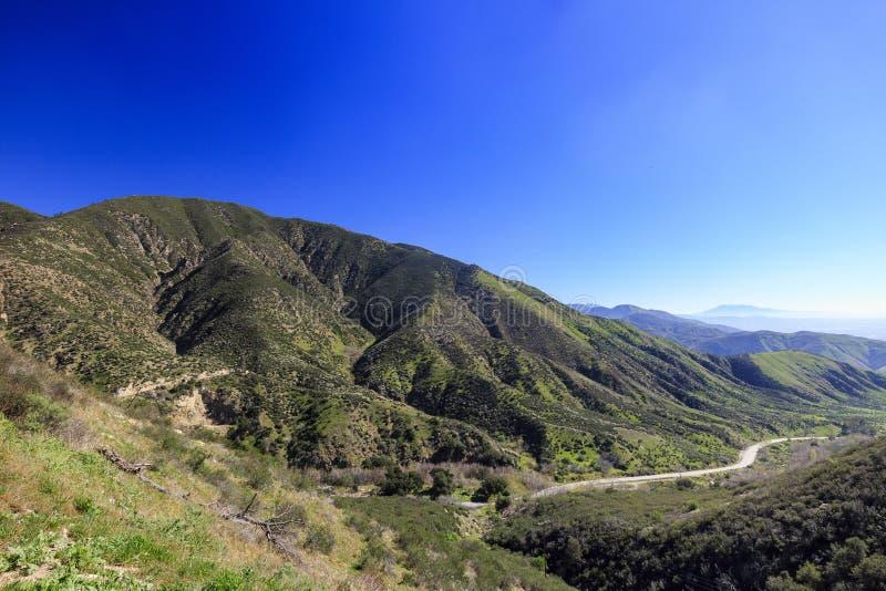 San Bernardino zur Sonnenuntergangzeit lizenzfreie stockfotografie