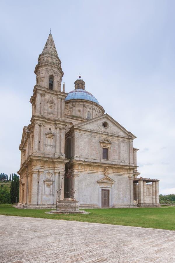 San Biagio kyrka i Italien arkivfoto