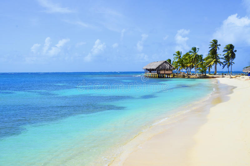 San Blas Island royalty free stock photo