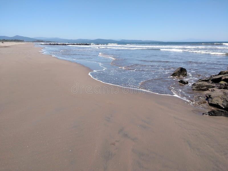 San Blas, plage du Mexique photos libres de droits