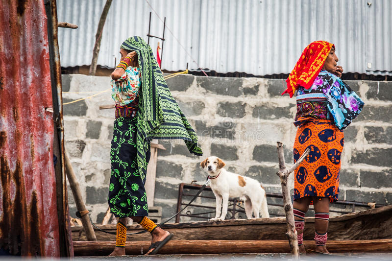 San Blas wysp kobieta obraz stock