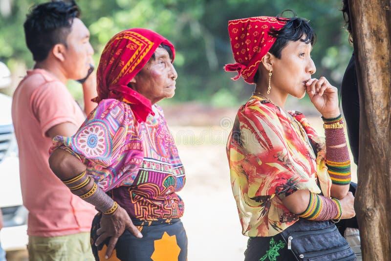 San Blas wysp kobieta zdjęcie stock