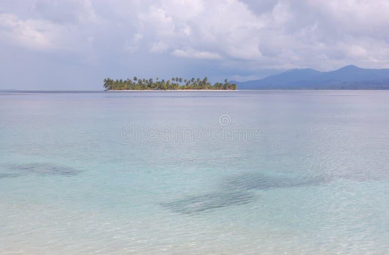 San Blas wyspy Panamskie zdjęcie stock