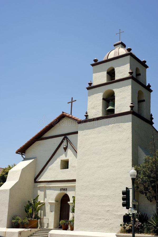 Download San Buena Ventura Mission stock image. Image of mission - 6801679