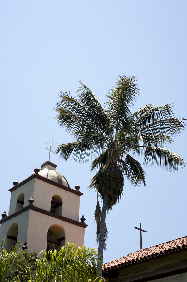 Download San Buena Ventura Mission stock image. Image of catholocism - 7109297
