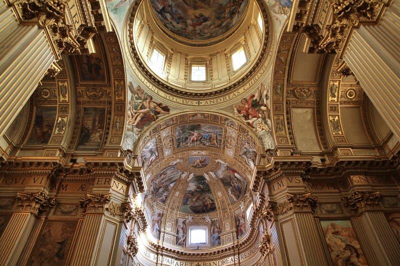 San Carlo ai Catinari foto de stock