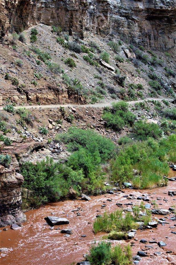 San Carlos Apache Indian Reservation, Gila County, o Arizona, Estados Unidos fotos de stock