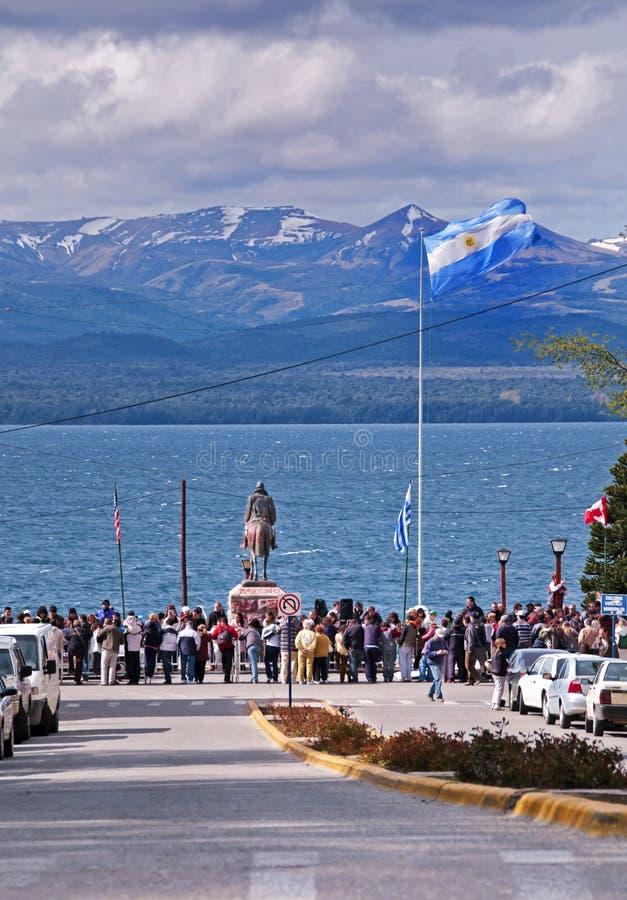 San Carlos DE Bariloche stock foto