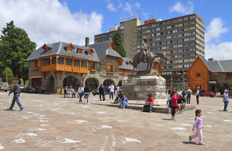 San Carlos DE Bariloche. Argentinië. royalty-vrije stock fotografie