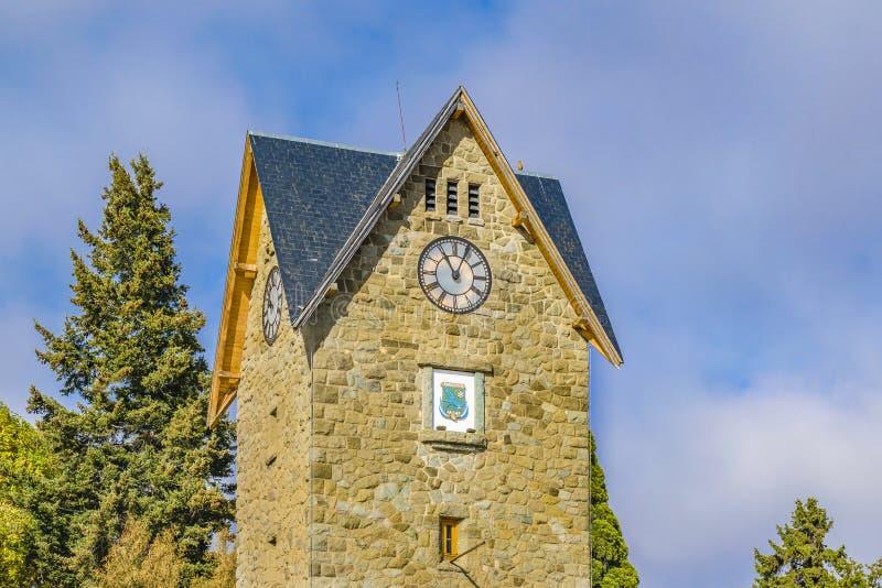 San Carlos de Bariloche Civic Center Building stock images