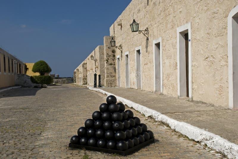 San Carlos de la Cabana Fort, havannacigarr, Kuba arkivfoton