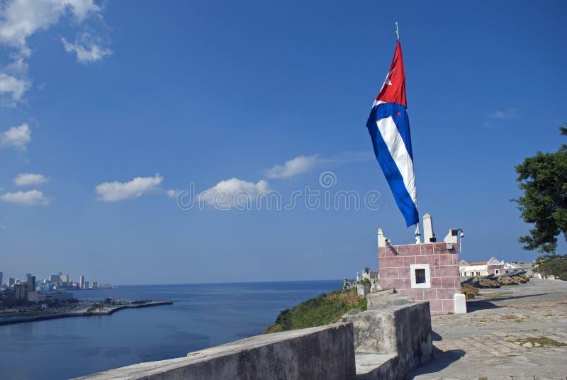San Carlos de la Cabana Fort, havannacigarr, Kuba arkivbild