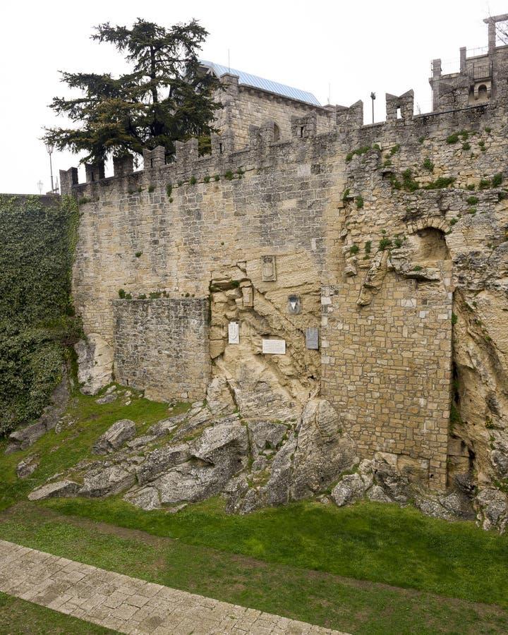 San cave Marino Balestrieri photographie stock libre de droits