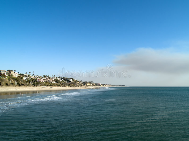San Clemente beautiful landscape royalty free stock image