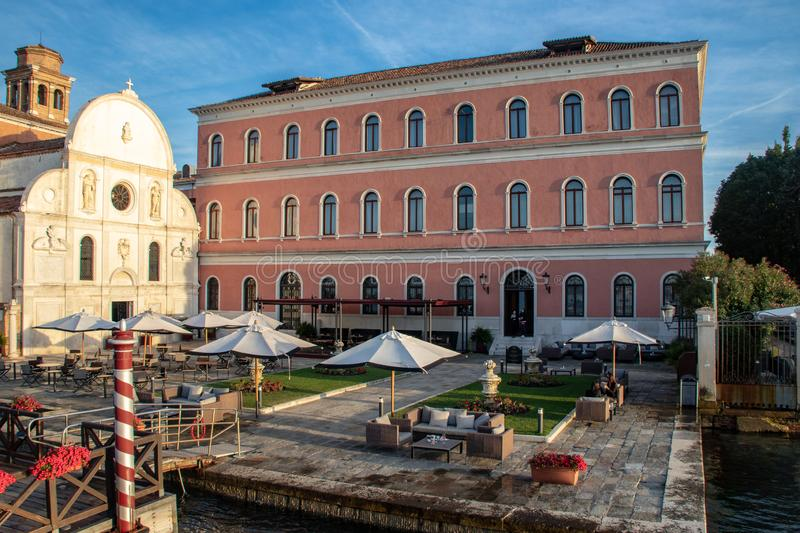The San Clemente Palace Kempinski Hotel. Near Venice, Italy stock photos
