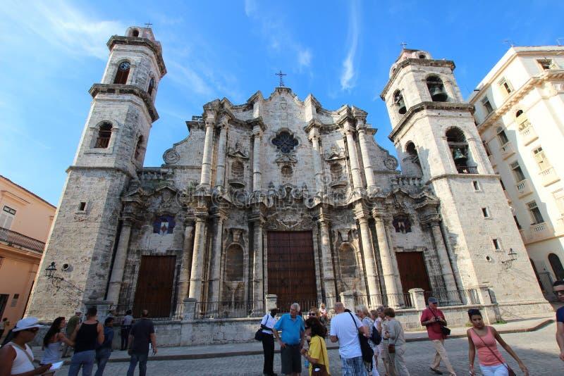 San Cristobal Cathedral lizenzfreie stockbilder