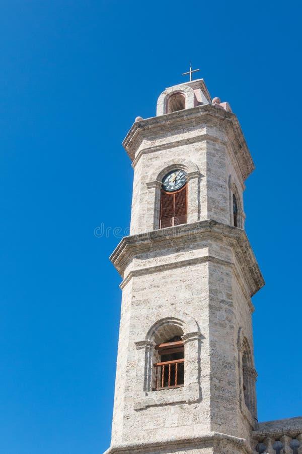 San Cristobal Cathedral, die Cavana-Kathedrale, in altem Havana, Cu stockbilder