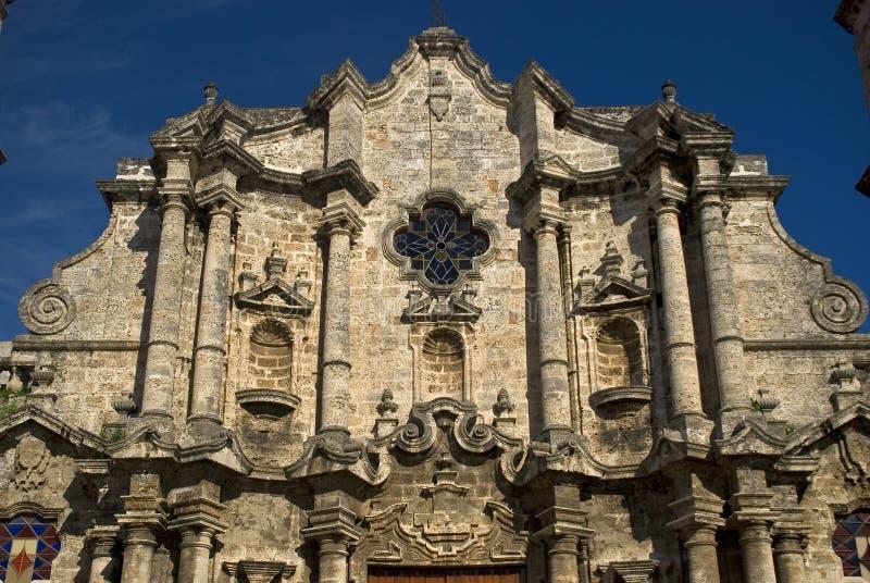 San Cristobal de la Habana Cathedral, Kuba, Havana lizenzfreie stockbilder