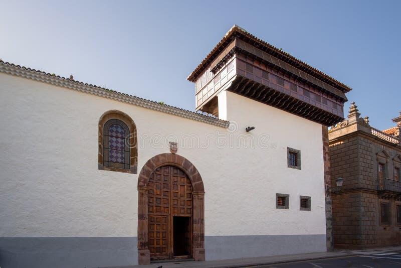 2019-02-22 San Cristobal de la Laguna, Santa Cruz de Tenerife - chiesa e monastero di Santa Catalina de Siena - immagini da immagini stock