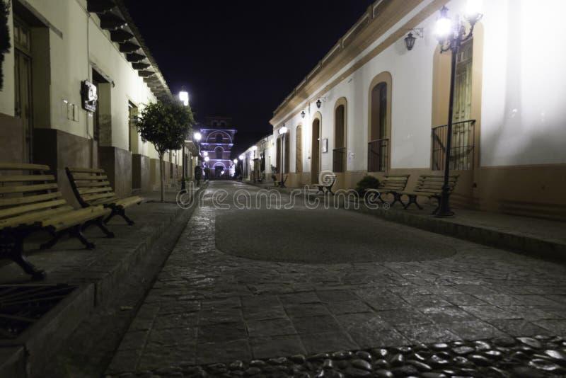 San Cristobal de Las Casas Chiapas Mexico arkivbilder