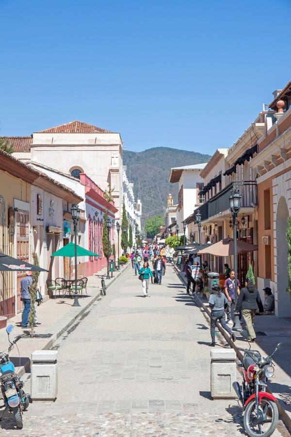San Cristobal de Las Casas, Chiapas, Mexico royaltyfria foton