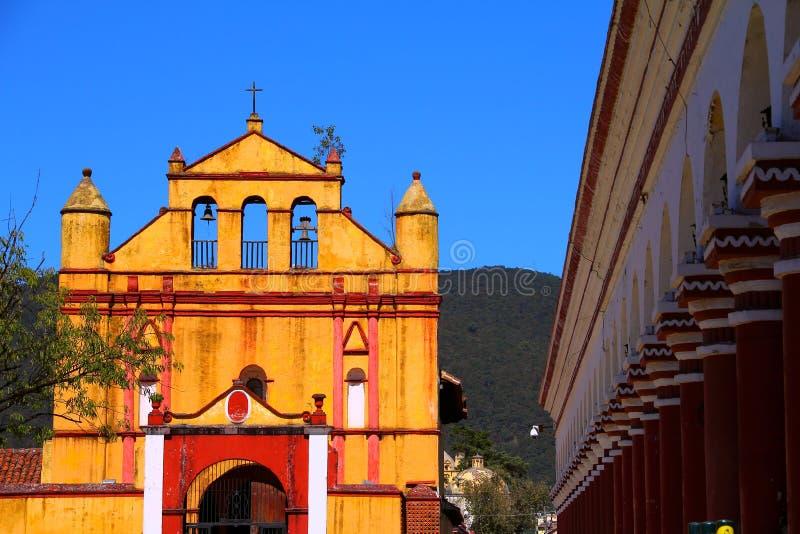 San Cristobal de Las Casas I arkivbild
