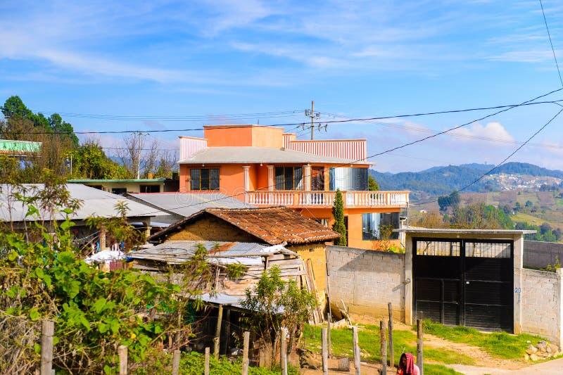San Cristobal DE las Casas, Mexico stock foto
