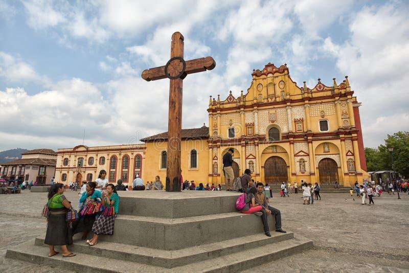 San Cristobal de Las Casas Mexiko stockfotos