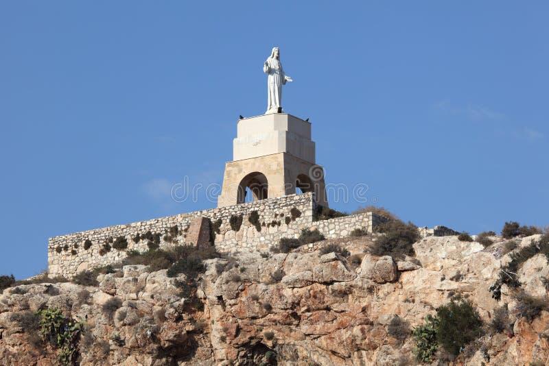 San Cristobal di Almeria, Spagna fotografia stock