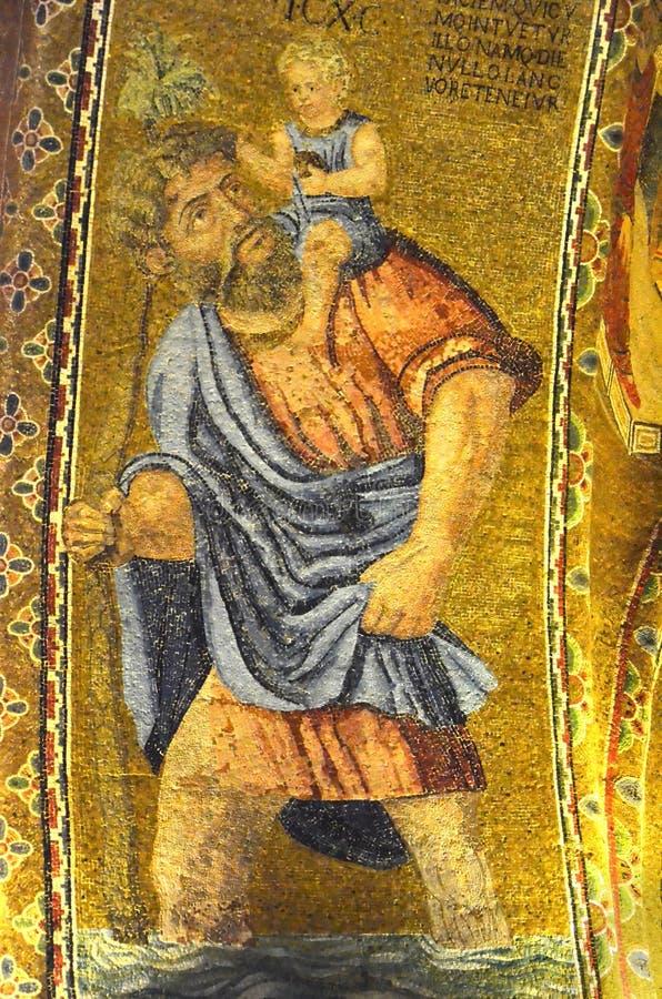 San Cristoforo fotografia stock libera da diritti