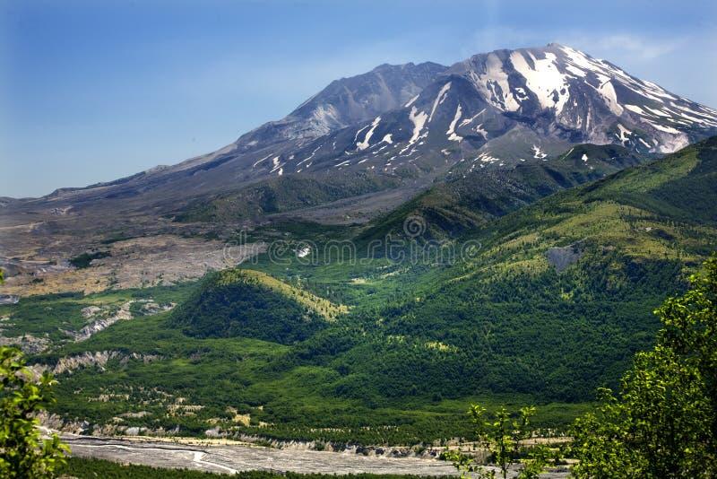 San di supporto verde delle montagne Helens immagine stock