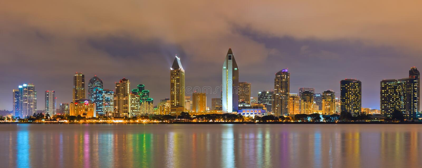 Download San Diego stock photo. Image of evening, dock, cloudy - 19094078