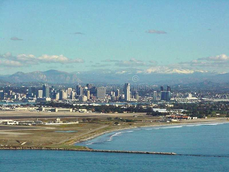 San Diego 6 stockfoto