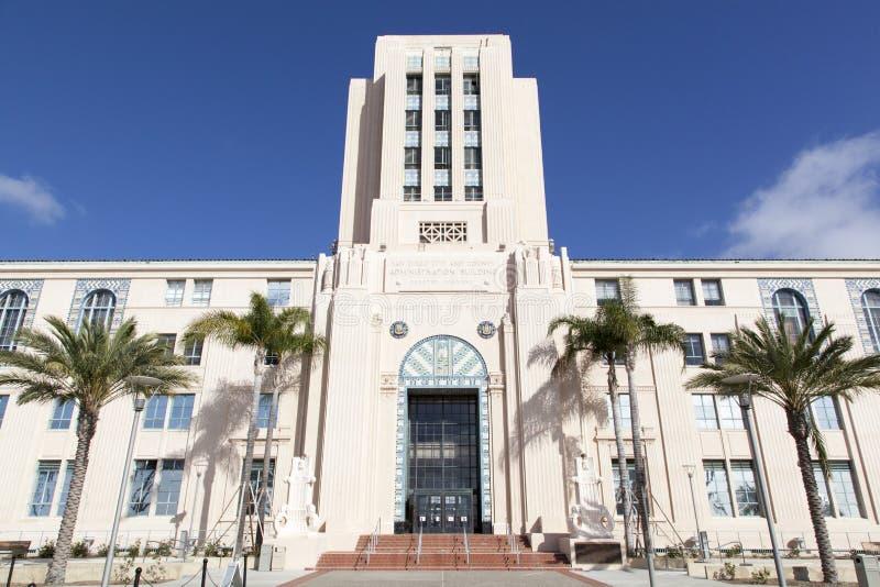 San Diego administraci centrum obrazy stock