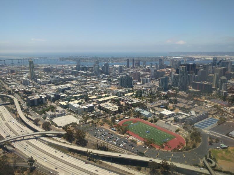 San Diego Aerial fotos de archivo
