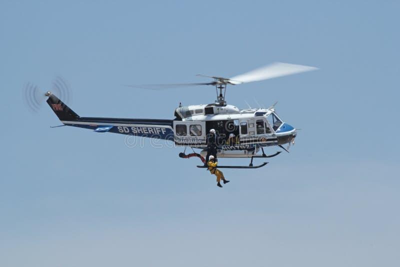 San Diego Air Rescue fotografia de stock royalty free