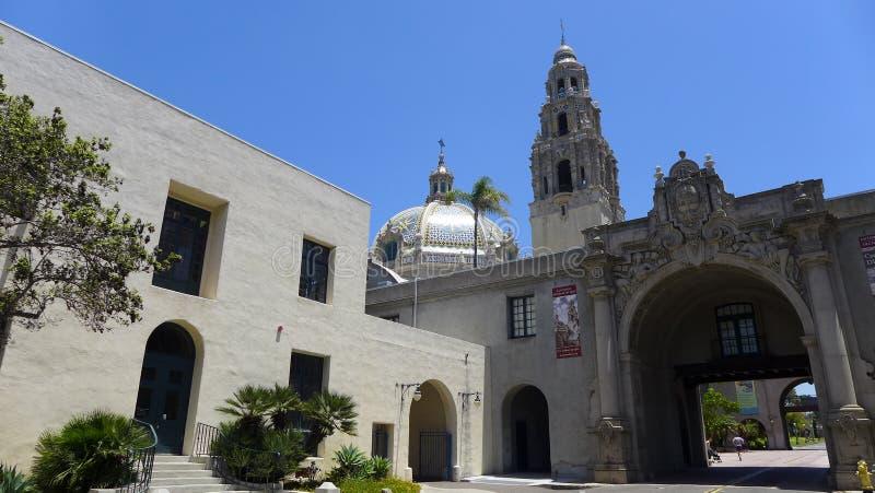 San Diego Balboa Park royaltyfria bilder