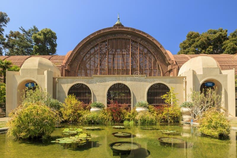 San Diego Balboa Park Botanical Building at San Diego royalty free stock photo