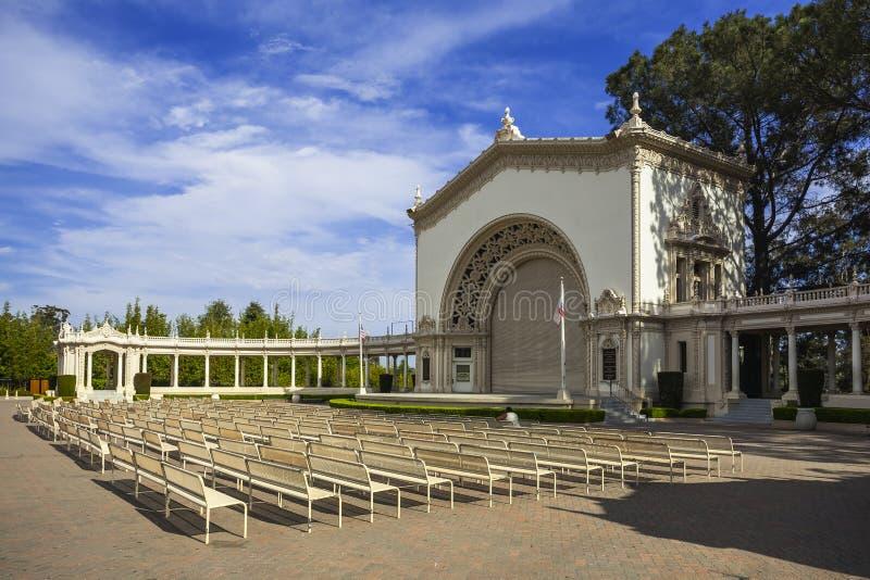San Diego Balboapark lizenzfreie stockfotografie
