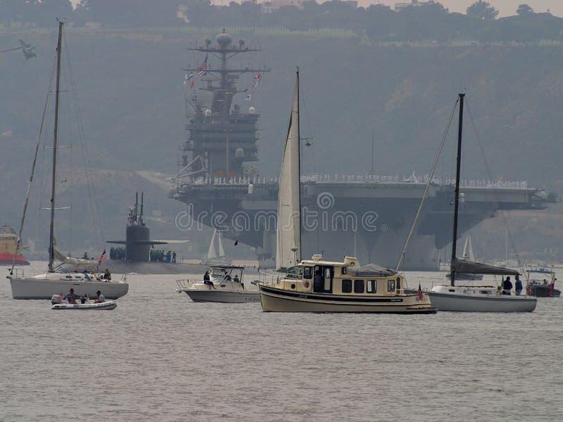 San Diego Bay 2 lizenzfreies stockbild