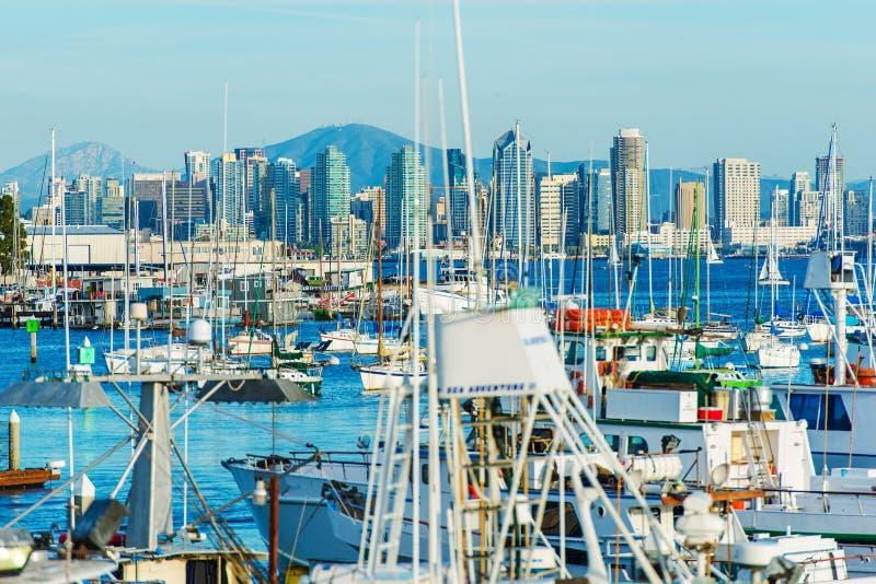 San Diego Bay California image libre de droits