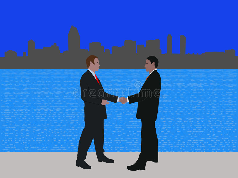 Download San Diego business meeting stock vector. Image of commerce - 7105343